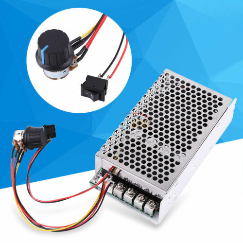 10-50V 100A 5000W Reversible DC Motor Speed Controller PWM Control Soft Start GD