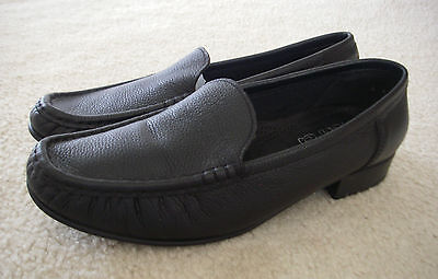 Jenny By Ara Atlanta Ladies Classic Moccasin Loafer Slip On Shoes $175 8 W | eBay