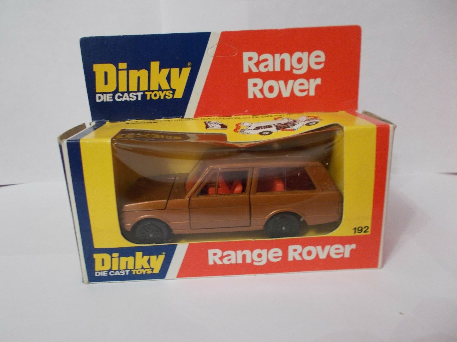 Dinky 192 range rover boxed 1970 vintage