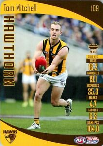 New-2020-HAWTHORN-HAWKS-AFL-Card-TOM-MITCHELL-Teamcoach