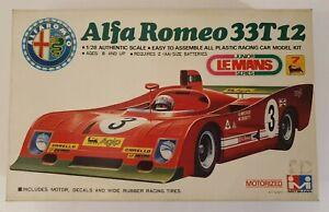 MITSUWA ALFA ROMEO 33T12 MOTORIZED MODEL KIT 1/28