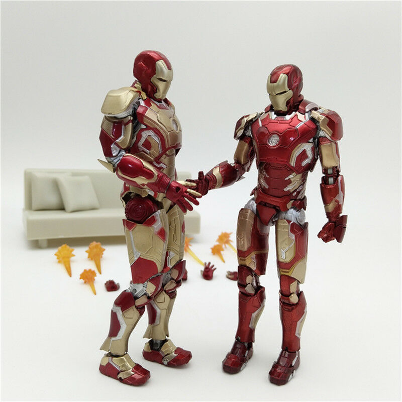 New 2018 Hot Toys Iron Man Diecast Mark XLII MK42 with LED L