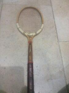 Vintage Laminated medium Tennis Racket Sterling Multyply Super 1960s Prop