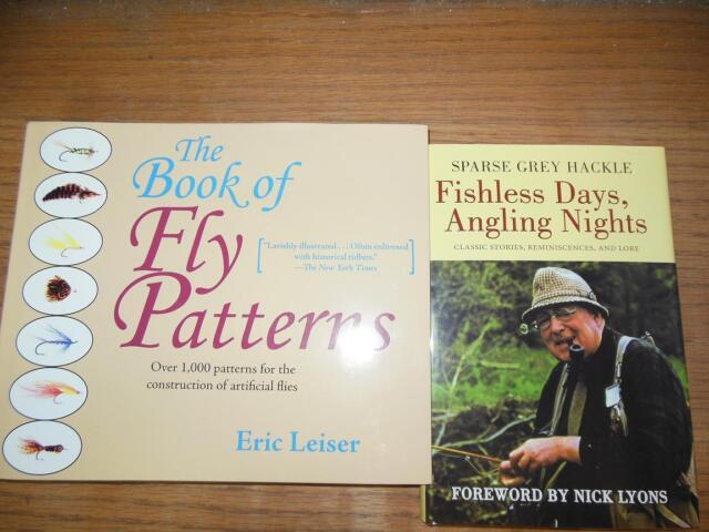 Fly Fishing Fly Tying Patterns Sparse Grey Hackle Classics  2 Book Set