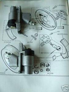 Mg nouvelle paire midget 1500 frein arrière roue cylindres 1974-80 ***