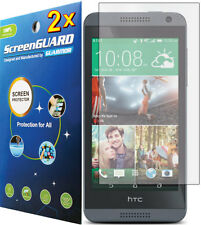 2x Clear LCD Screen Protector Guard Shield Cover for HTC Desire 610 / HTC One E8