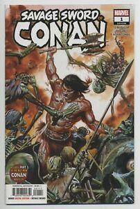 SAVAGE-SWORD-OF-CONAN-1-MARVEL-comics-NM-2019-Gerry-Duggan-Ron-Garney