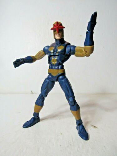 "Marvel Legends BAF Nemesis Series Nova 6/"" inch action figure Walmart Exclusive"
