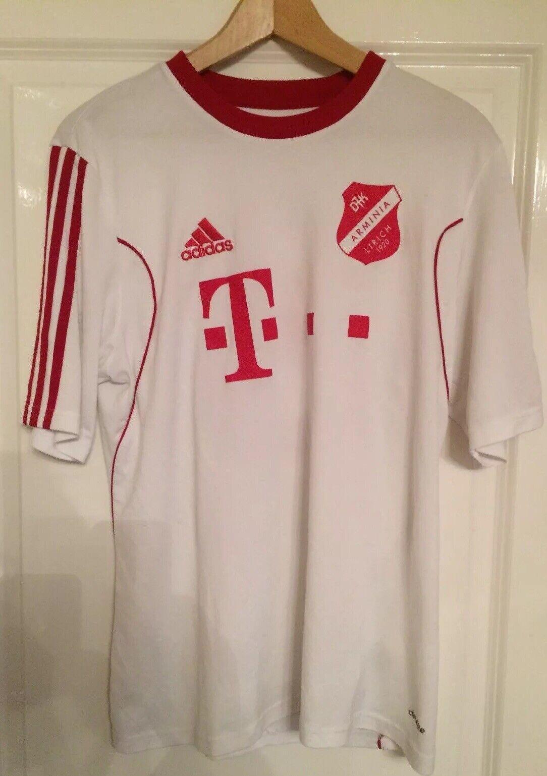MATCH WORN CALCIO Arminia lirich footbtutti shirt tedesche nonLEAGUE  5 WITT adulto 40
