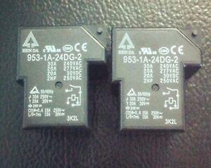 1PC-New-953-1A-24DG-2-24VDC-Relay-Hsin-Da