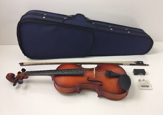 Maestro Mvk441 4 4 Size Traditional Violin With Case Bow For Sale Online Ebay