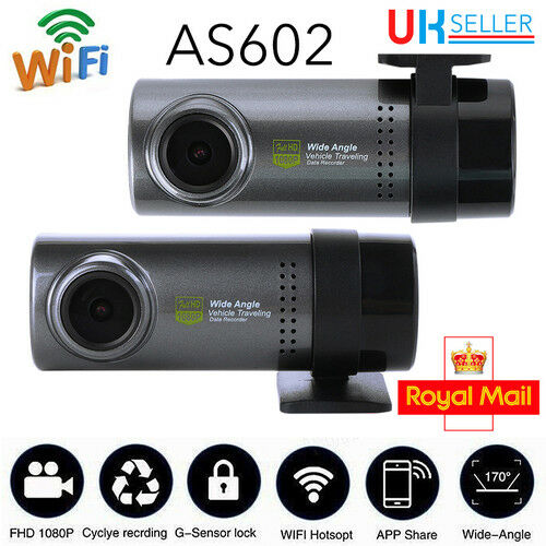 Mini Dash Cam WIFI Hidden Car DVR Camera Video Recorder For Android/iPhone APP