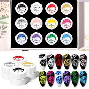 12-Boxes-Set-BORN-PRETTY-Pro-5ml-Nail-Painting-UV-Gel-Polish-Nail-Art-Varnish