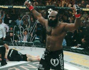Kimbo-Slice-Autographed-Signed-EliteXC-UFC-Legend-8x10-Photo-REPRINT