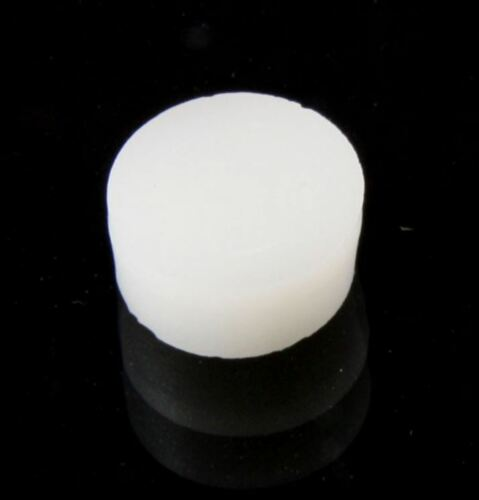 Pack of 50 Metric White Inlay Dots