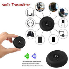 Bluetooth 4.0 Transmitter Receiver Audio H366T A2DP TV Stereo Adapter 3.5mm New