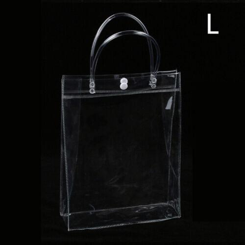 Pop Clear Tote Bag Bags Crystal PVC Women Handbag Shoulder Transparent Beach Hot