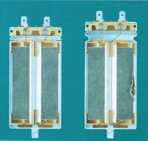 45uF Run CapacitorICAR P2 Metal//Aluminium 400//450//500V motor air pump fan