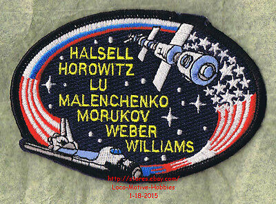 LMH PATCH Badge  NASA SPACE SHUTTLE Atlantis 1990 STS-36 Mission Insignia Casper