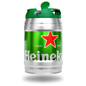 2x-Heineken-Bier-Dose-Fass-Zapfhahn-5L-Festival-Party-Grillabend-Sommer-VIP