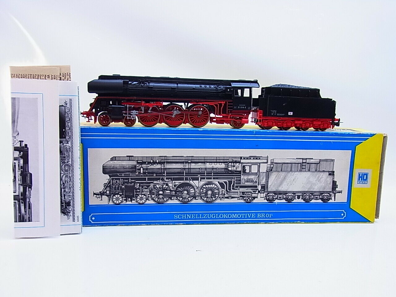 Lot 56033 Piko h0 5 6325 schnellzuglokomotive br 01 en OVP en OVP