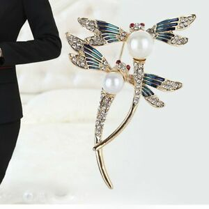 Alloy-Dragonfly-Insect-Shape-Brooch-Pin-Jewelry-Lapel-Pin-Clothes-Accessories