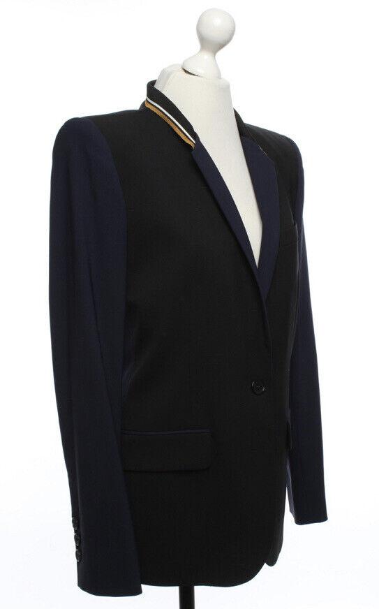 NWT Barbara Bui Wool Unique & Beautifully Tailored Blazer/Jacket