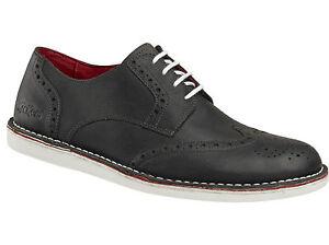meet 4a1a6 9618d Details zu KICKERS Schuhe Urbania Black Noir - Schnürschuhe - Leder -