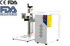Raycus 100w Fiber Laser Marking Machine Metal Engraving Engraver Ezcad2 Ceampfda