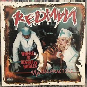 REDMAN - MALPRACTICE (VINYL 2LP)  2001!!  RARE!!  METHOD MAN + SAUKRATES + MISSY