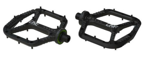 OneUp Components Aluminum Platform Flat MTB Mountain Bike Pedals Black