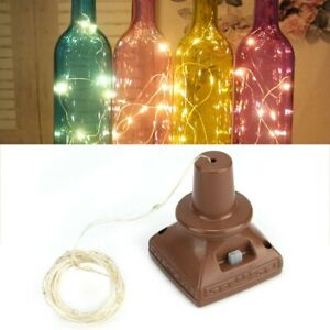 4x-Solar-Wine-Bottle-Cork-Shaped-String-Light-20LED-Night-Fairy-Light-Lamp-Xmas