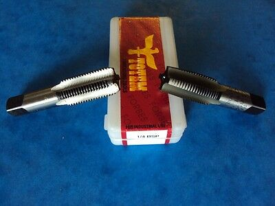 TAP SET 1/4 BSP  BRITISH CLASSIC  PETROL TANK THREAD TRIUMPH NORTON BSA
