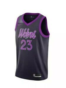 buy popular 5536f b2131 Details about Nike Jimmy Butler Minnesota Timberwolves Purple Rain Swingman  Jersey Sz Small S