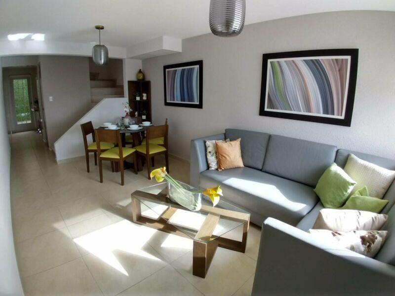 casa 2 niveles 2 recamaras nueva casa paredes de concreto a 5 minutos mexibus ojo de agua tecamac