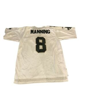 Details about Archie Manning New Orleans Saints Reebok On Field Jersey Sz Large