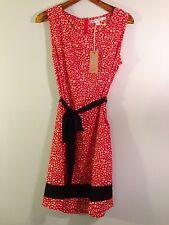 Brand-New Red Dress w/White Spots, Black Trim by Brooklyn Industries, XL