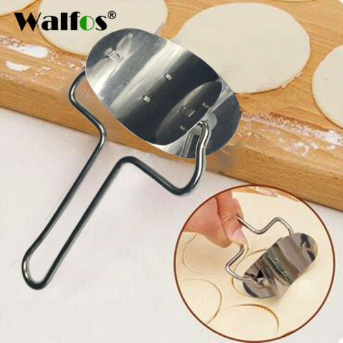 Stainless Steel Dumpling Skin Cutter Machine Pie Ravioli Mould Circle Device