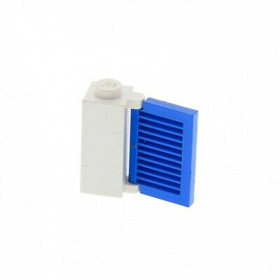1 x Lego ® Door Gate Blue with Bracket Black Used.2.