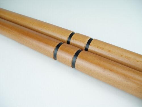 Hardwood Escrima Sticks Fighting wood Kali Arnis Martial Arts add Carrying Case