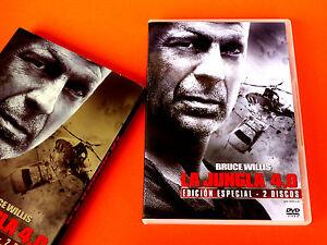 La Jungla De Cristal 4 0 Die Hard 4 Edición Especial 2 Discos Nuevo Ebay