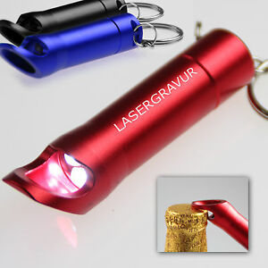 led taschenlampe schl sselanh nger mit gravur lasergravur namen ebay. Black Bedroom Furniture Sets. Home Design Ideas