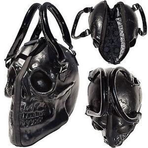 Image Is Loading Kreepsville 666 Skull Black Purse Skeleton