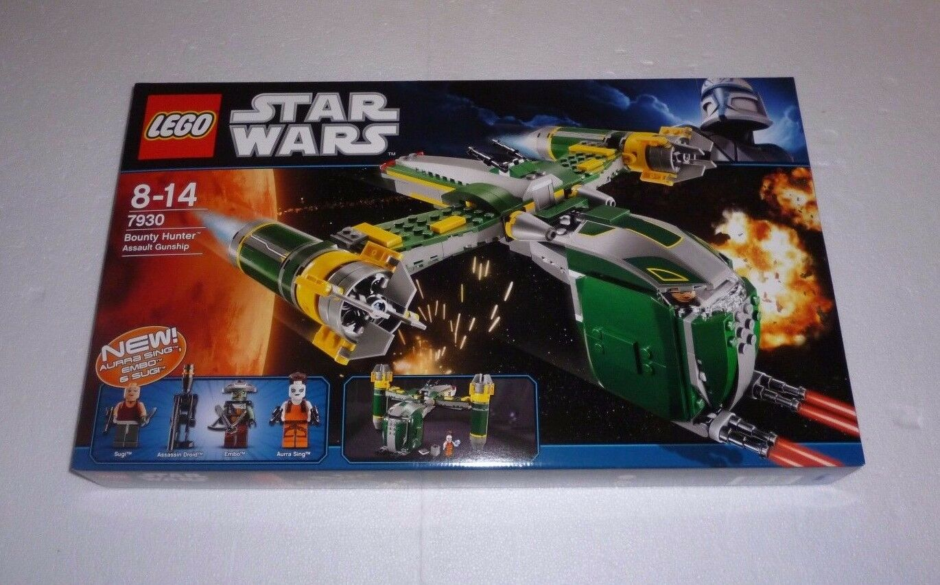 LEGO Star Wars Bounty Hunter Assault Gunship (7930) NEU   NEW OVP