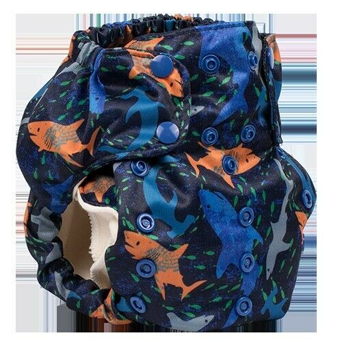 Jawsome-Smart Bottoms Smart One 3.1 All-in-One Cloth Diaper Organic