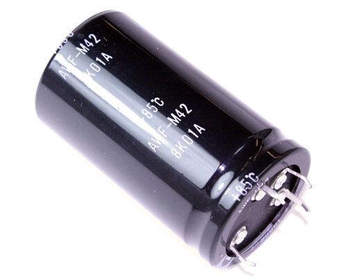 2x 10000uF 80V Radial Snap In Electrolytic Audio Capacitor 10000mfd 80VDC 10,000