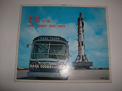 Kennedy Space Center Tours By Twa Travel Brochure 1972 24pgs Astronauts & Space Travel Intellective Nasa At The John F