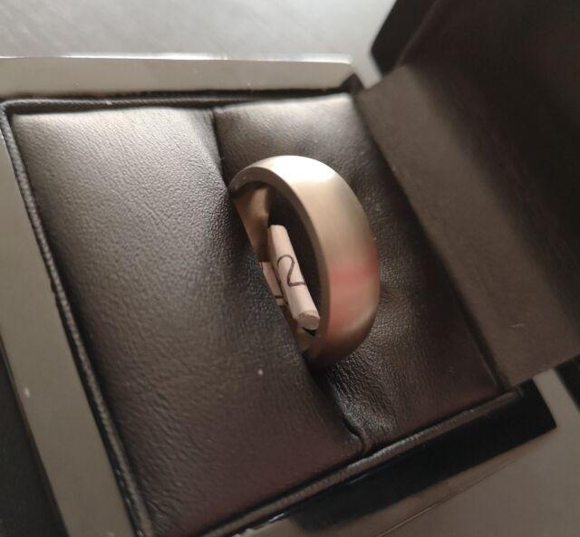 ***REDUCED*** Mens Satin Finish Titanium Ring - Size R
