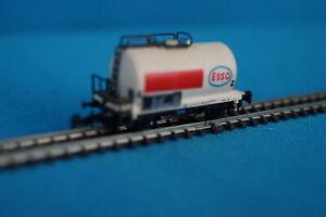Marklin-8612-DB-Tanker-Car-ESSO-White-red-Striping-Z-Mini-club