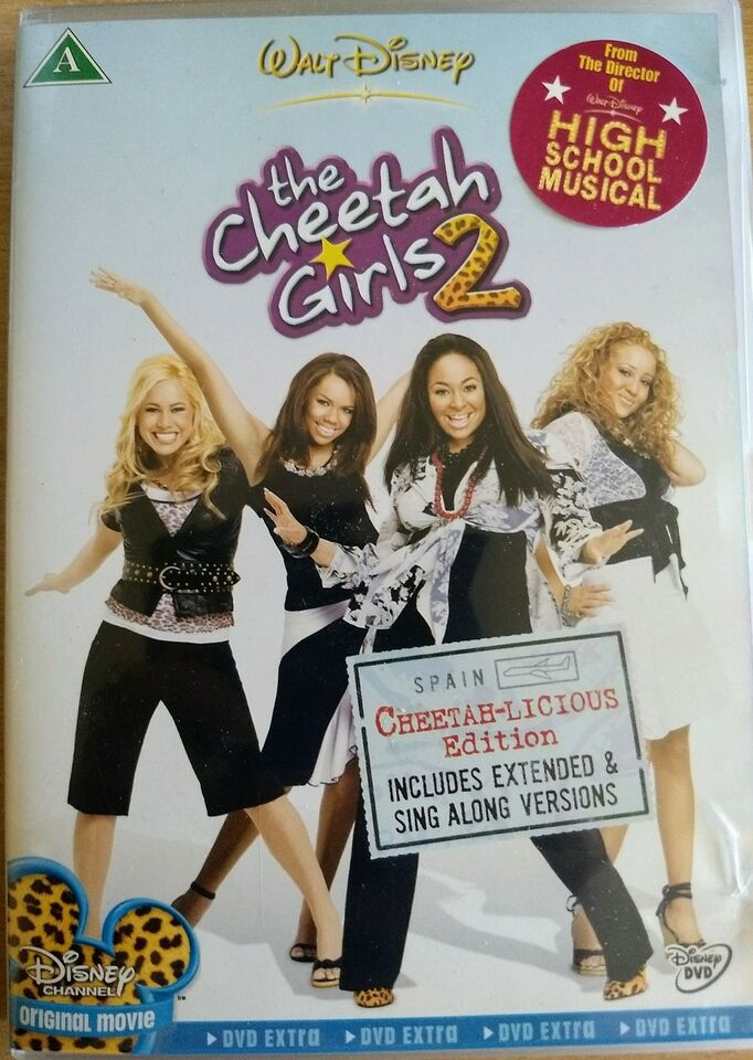 The cheetah girls 2, DVD, familiefilm
